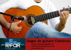 Stages de guitare Flamenca